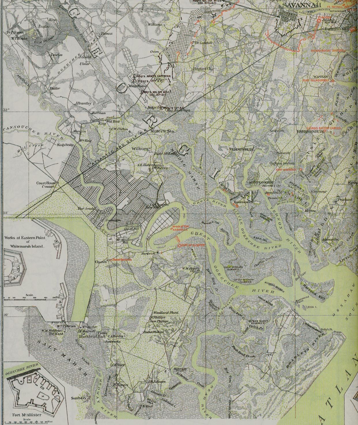 A Brief History of Capt. N.B. Clinch's Artillery Company; by ... on army forts in georgia, chatham county georgia, chattanooga georgia, skidaway island georgia, bryan county georgia, savannah georgia, georgetown georgia, civil war forts in georgia, shiloh georgia, bonaventure cemetery georgia, oxford georgia, thunderbolt georgia, garden city georgia, resaca georgia, bloomingdale georgia, wilmington island georgia, whitemarsh island georgia, woodville georgia, richmond hill georgia, chickamauga georgia,